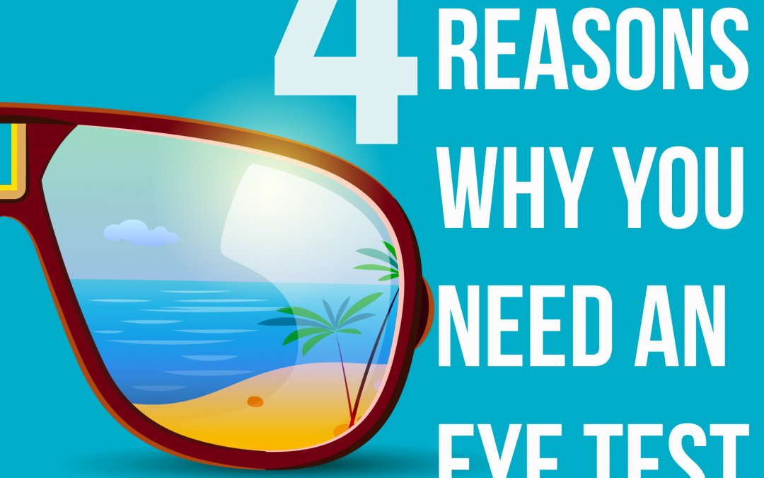 4 REASONS WHY YOU NEED AN EYE TEST